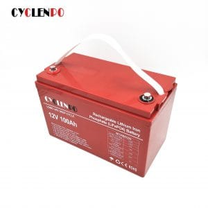 Deep cycle lithium ion battery 12v 100ah for car and cmaping car or boat