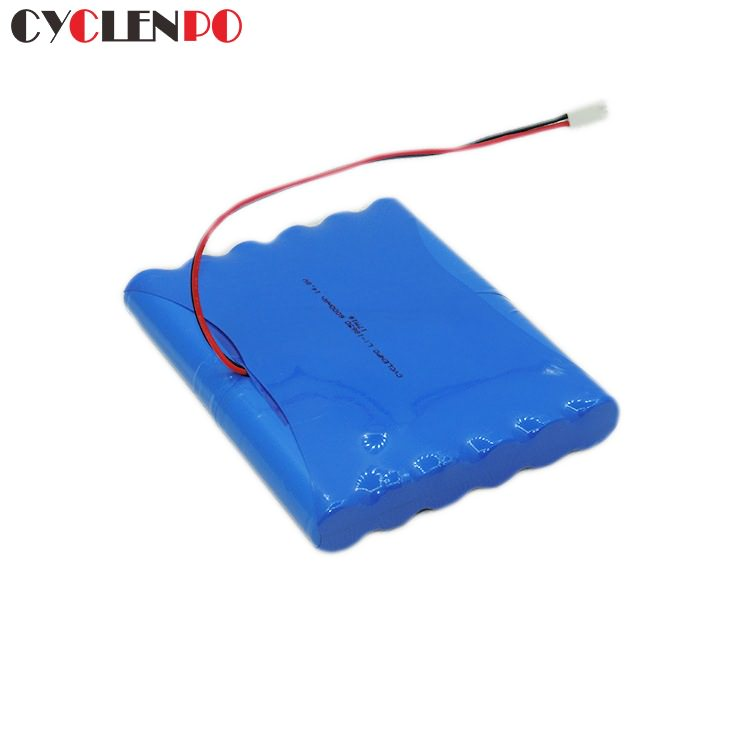 lithium ion rechargeable battery 14.8v 6000mAh  battery pack