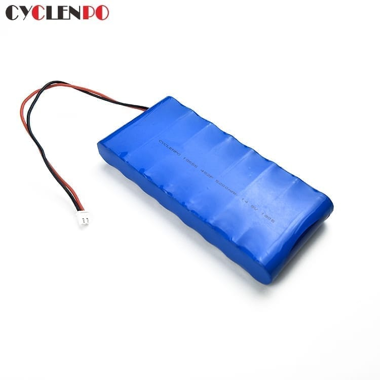 18650 rechargeable 4s2p 14.8 volt lithium ion battery packs 5200mah
