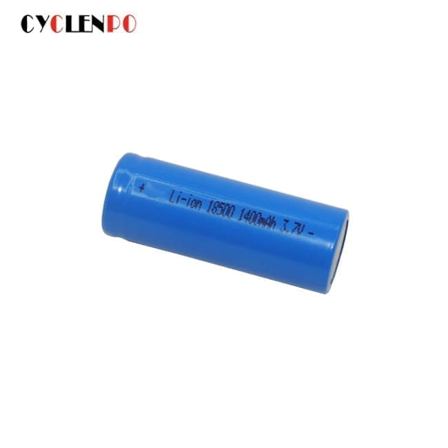 18500 3.7v 1400mah lithium battery