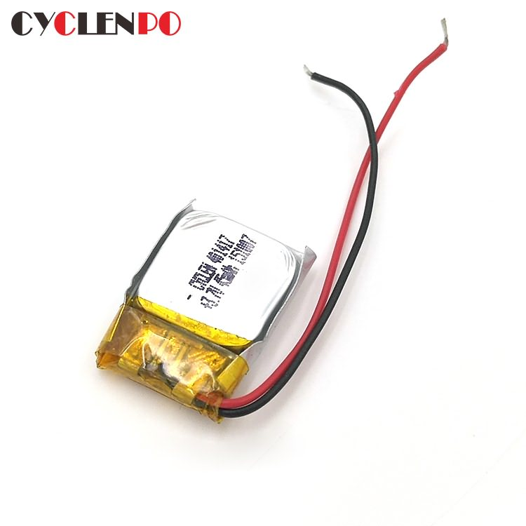 401417  3.7v 45mah  smallest  lithium polymer battery