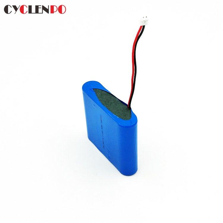 best 18650 1s4p 3.7v li-ion 12000mah battery pack