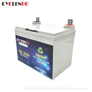 Best deep cycle 12v 22ah battery rechargeable lifepo4 battery