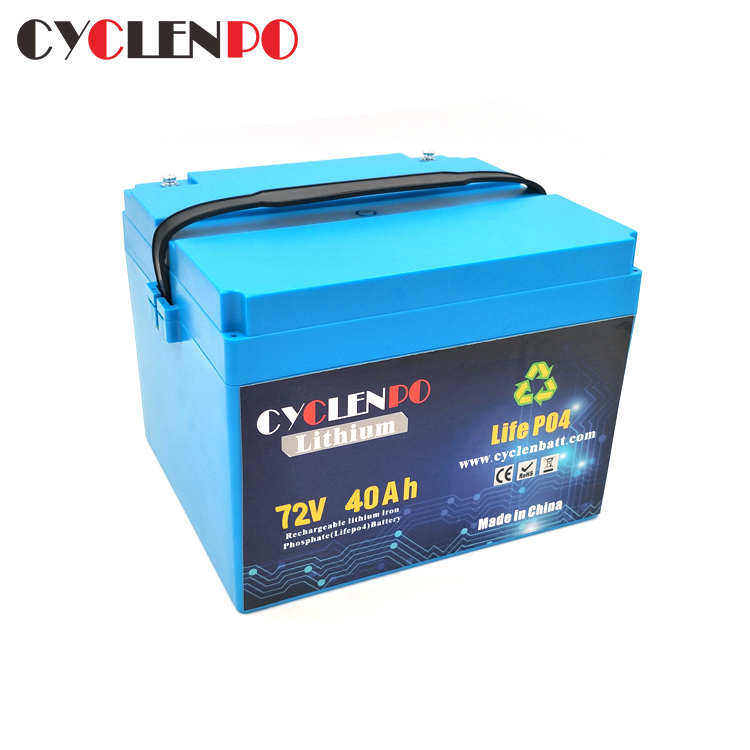 72v ebike battery 40ah lithium battery