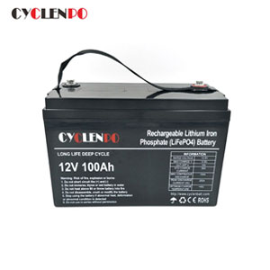 Lifepo4 12 Volt Lithium Battery 100Ah For Lead Acid Replacement
