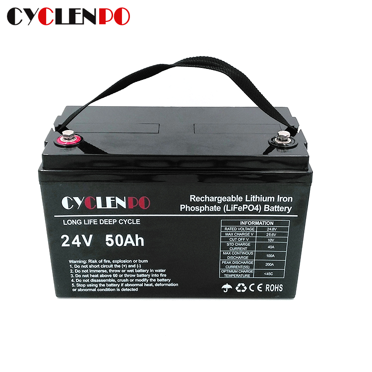 Deep Cycle 24v 50ah Lithium Ion Battery