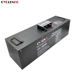 Deep cycle lifepo4 12v 300ah lithium ion battery