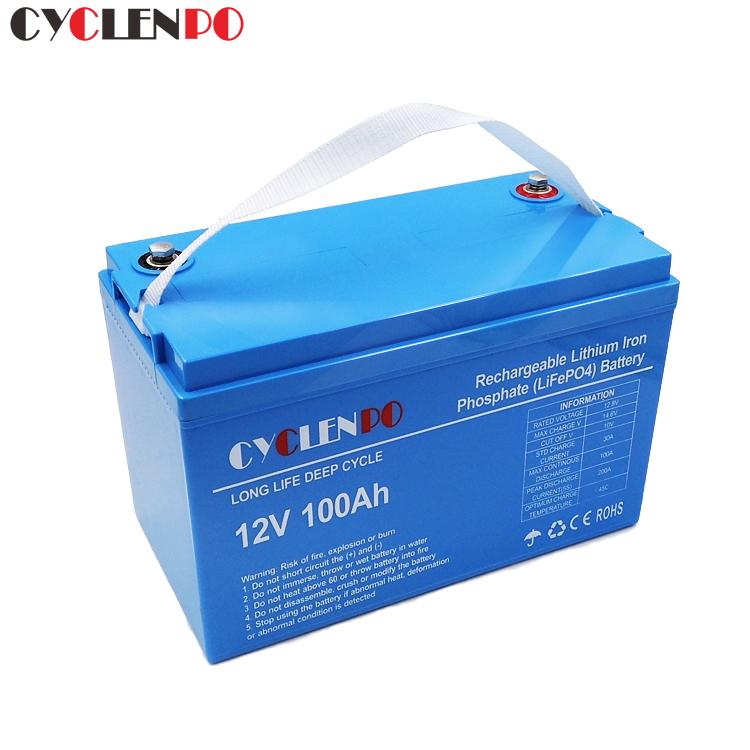 12V lithium ion battery