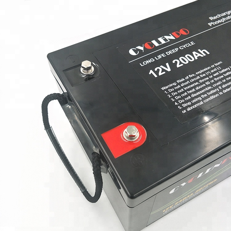 lifepo4 battery 12v 200ah supplier