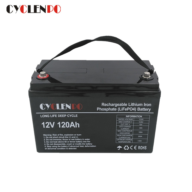 12v 120ah lifepo4 battery pack