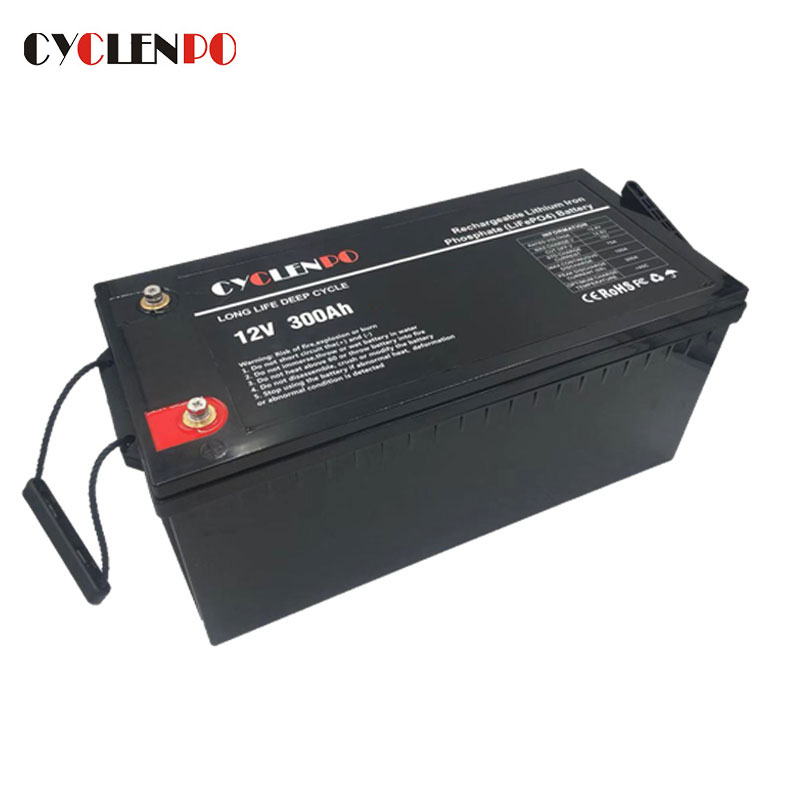12V Lithium Ion Rechargeable Battery 300Ah Lifepo4 Battery