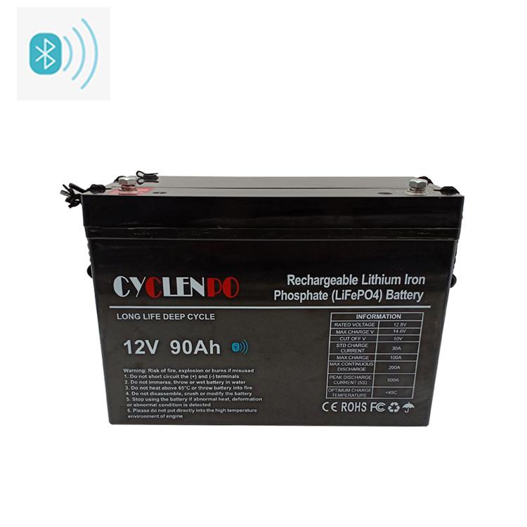 12v 90ah lithium battery