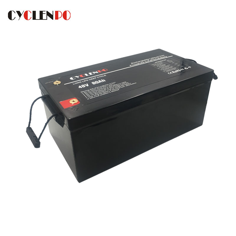 48V Lithium Iron Phosphate Battery 80Ah For Solar EV And Energy Storage