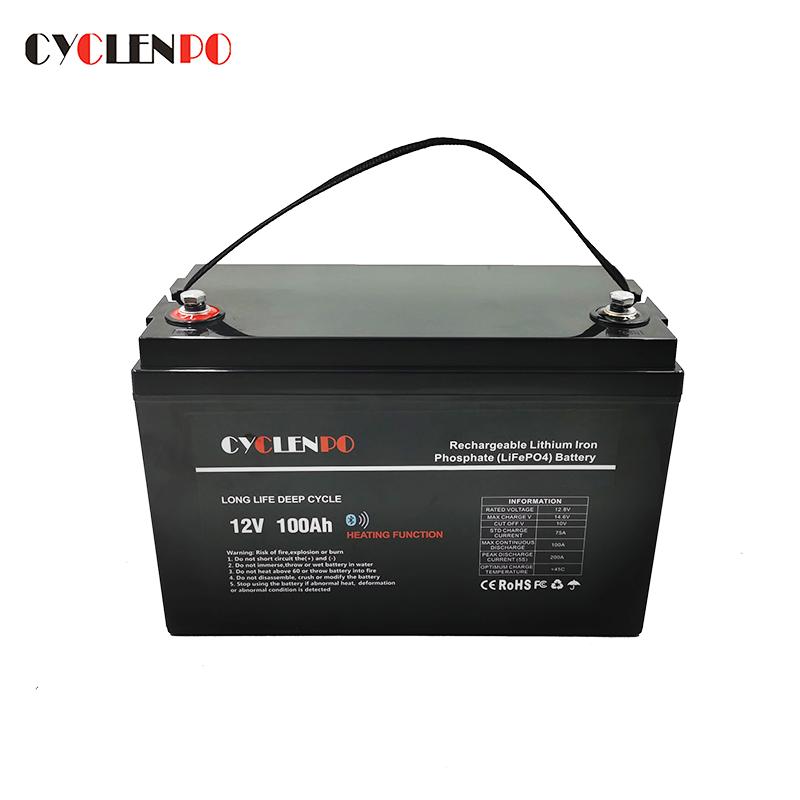 lifepo4 12v 100ah battery