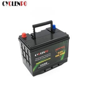 12v 60ah battery deep cycle car battery
