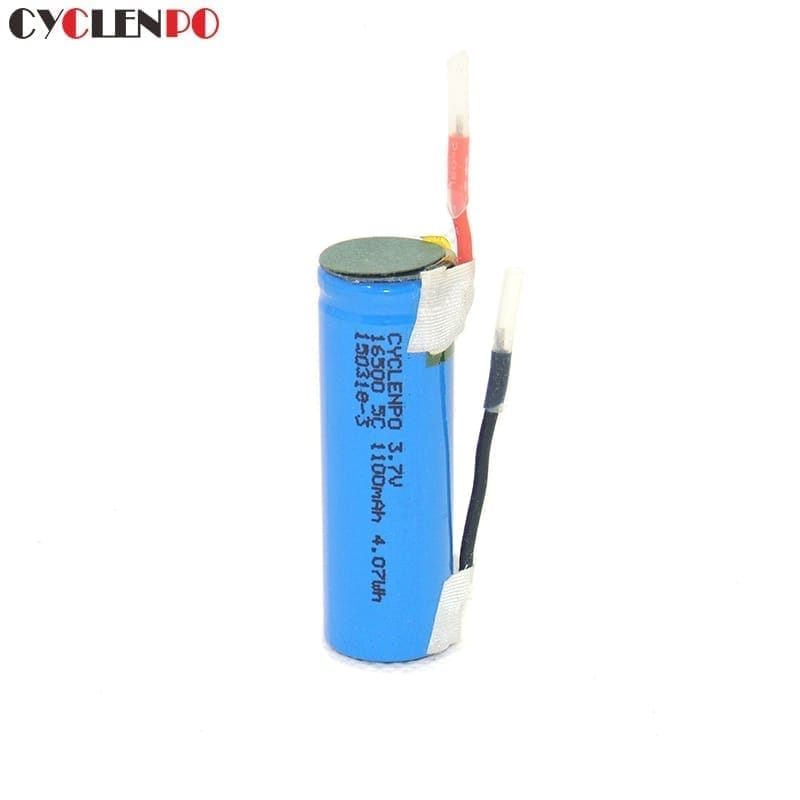 lithium battery 16500 3P 3.7v 1100mah rechargeable battery cell