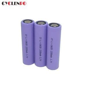 best 18650  3.7v  2200mah battery