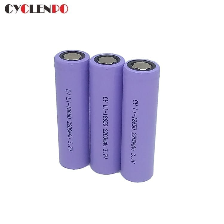 best 18650  3.7v  2200mah battery