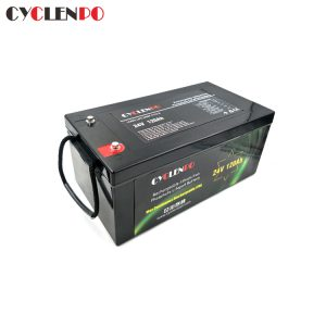 Deep Cycle  24V 120Ah Battery Lifepo4 Battery Pack