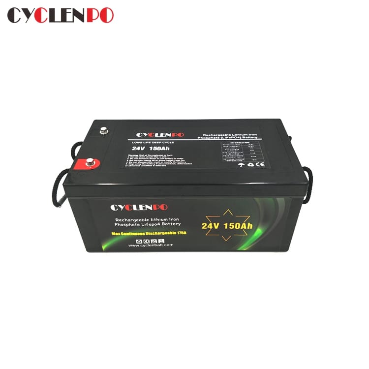 150Ah 24V Lithium Battery For Marine EV Solar