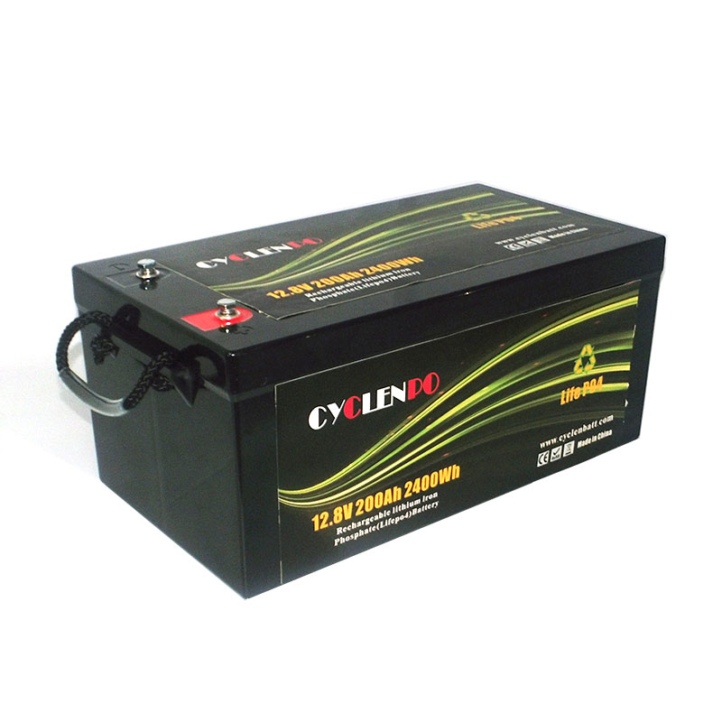 Rechargeable Long Life 12v 200ah Deep Cycle Battery