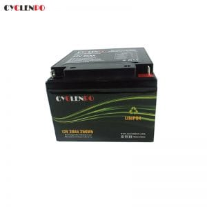 LiFePO4 12V 20Ah Battery Deep Cycle Lifepo4  Scooter Battery And Motorcycle Battery