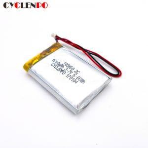 3.7v 1800mah 103450 lithium polymer battery