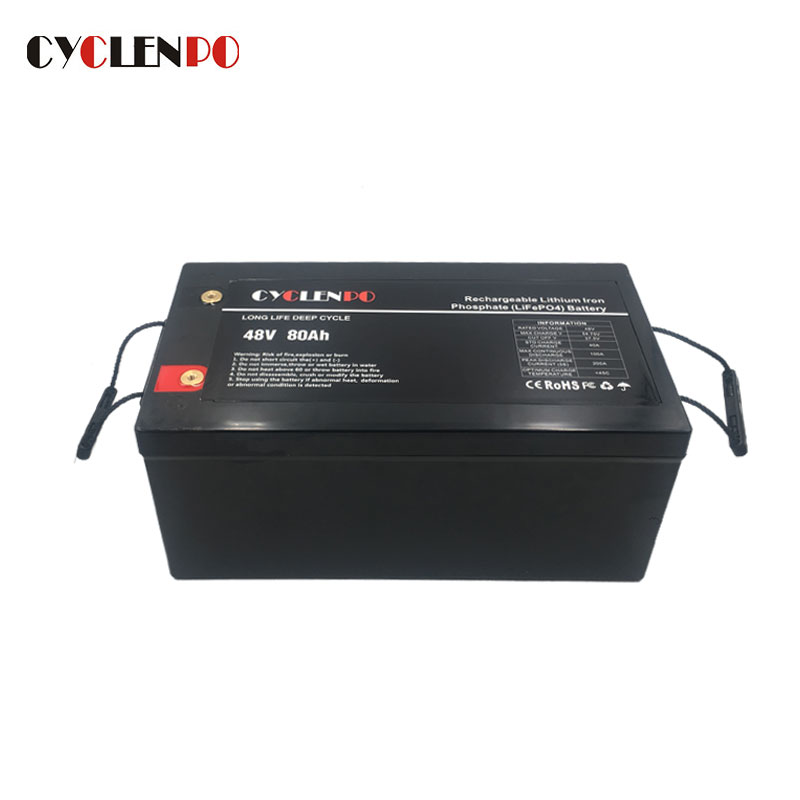 Lifepo4 48V 80Ah Battery For Electric Vehicles Marine and Energy Storage