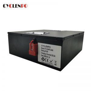 24v 60ah lithium ion battery for agv