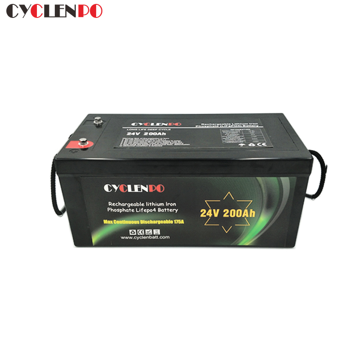 Customized Deep Cycle 24V 200Ah Battery Pack For Solar and EV
