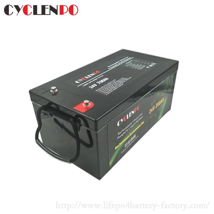 24v 200ah lithium battery manufacturer