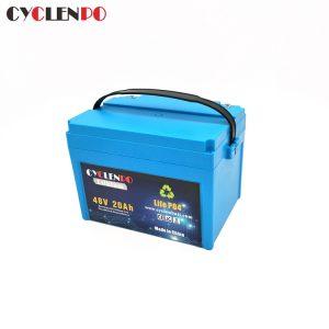 1000w Electric Bike Battery 48V 20Ah Lifepo4 Battery