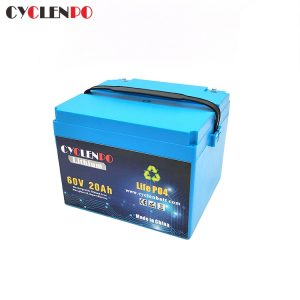Customized Lifepo4 20Ah 60v Scooter Battery 1000w 1500w