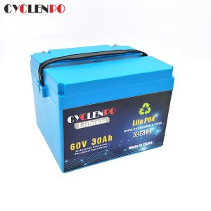 60V Lithium Battery Pack 30Ah For Electric Bike Motorcycle