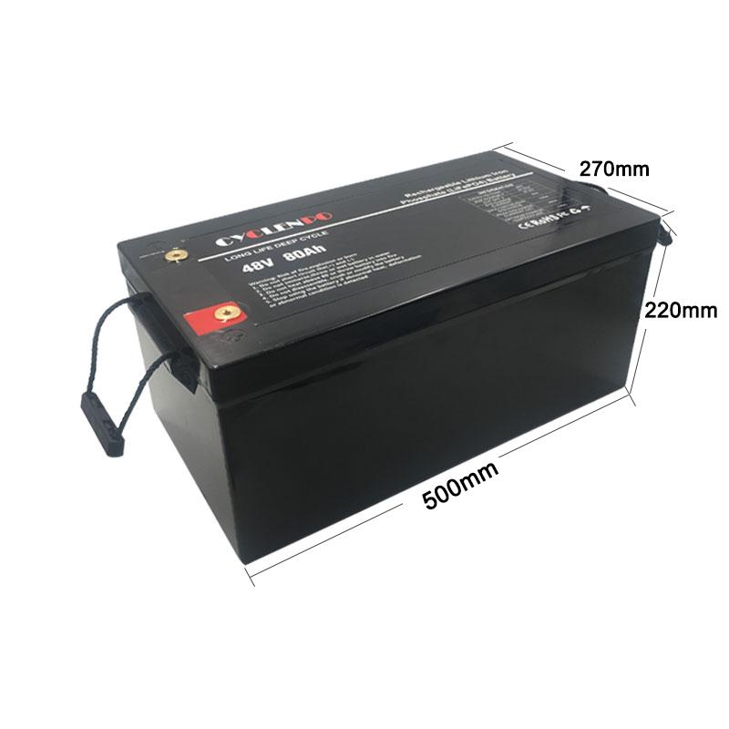 48v 80ah battery