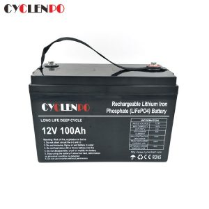 Lifepo4 12V 100ah Battery For RV Marine Golf Cart Solar and Other Deep Cycle Application