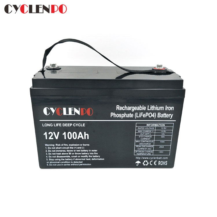 factory 12v 100ah lithium ion battery price