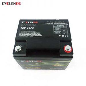 12v 25ah lithium battery