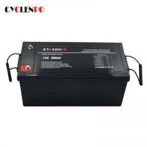 Customized Lifepo4 Battery 12v 200ah For Power and Energy Storage