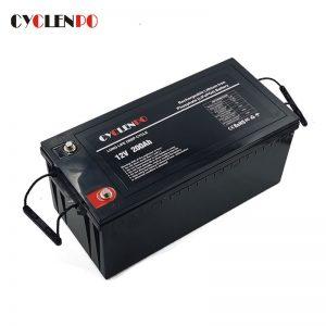 lifepo4 battery 12v 200ah factory