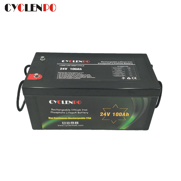 High Quality 24v 100ah lithium ion battery