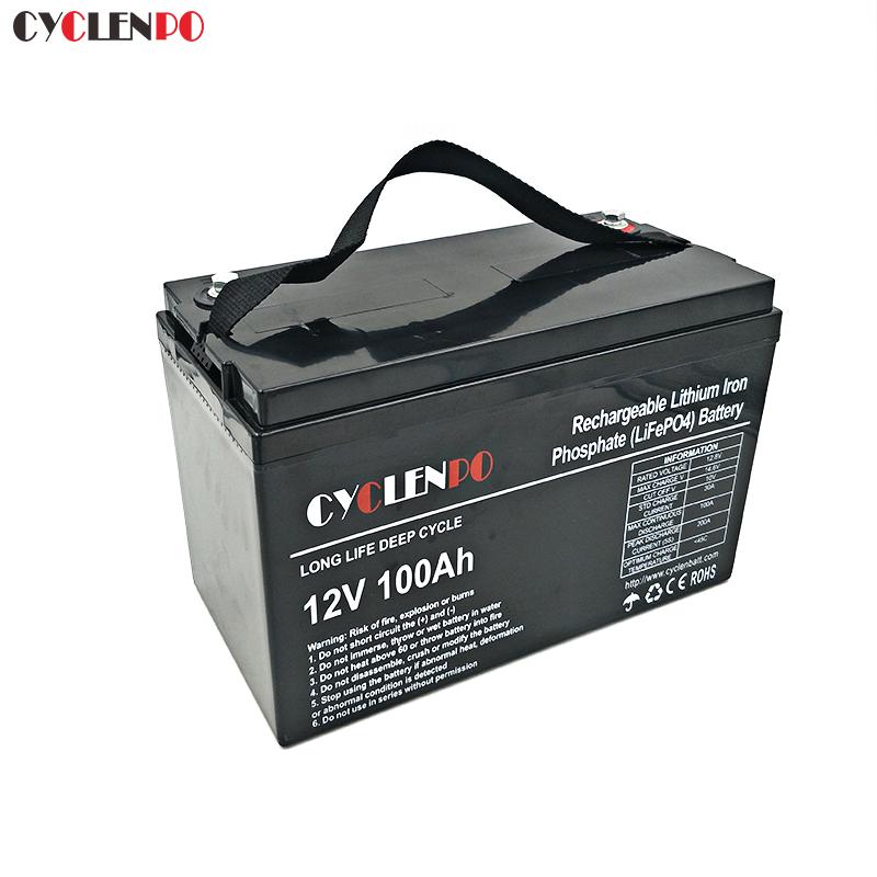 12v lithium iron battery