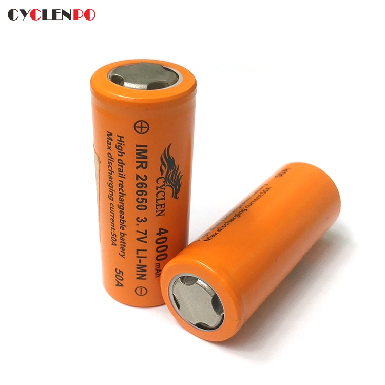 Customized lithium battery 26650 3.7 v 4000mah