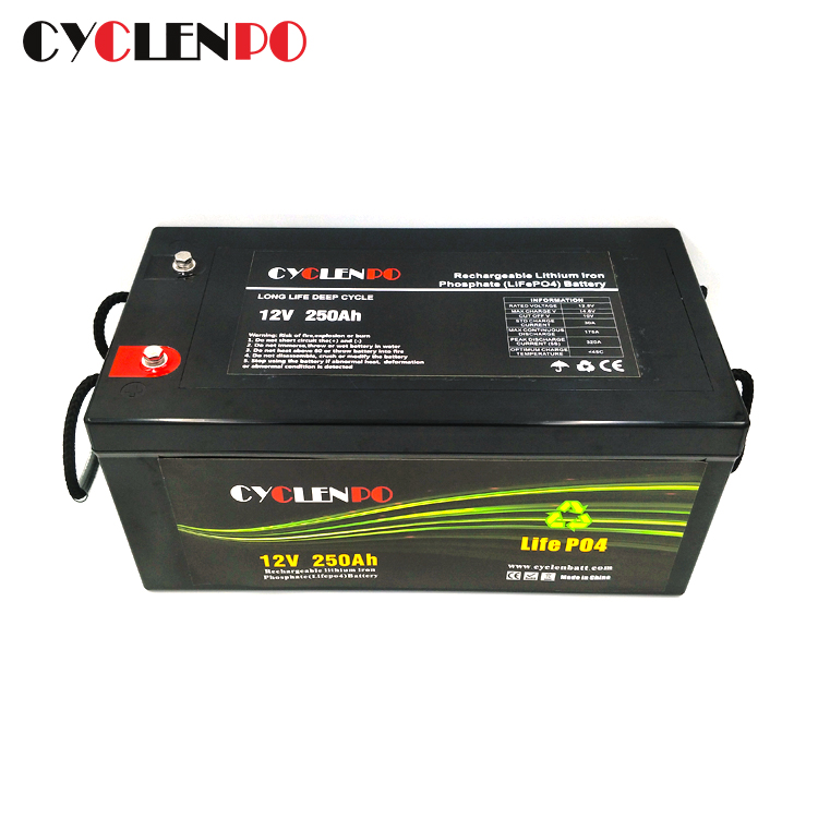 12v 250ah lithium ion battery supplier