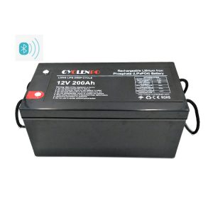 Lithium Iron Phosphate Battery 12V 200Ah With Bluetooth Function