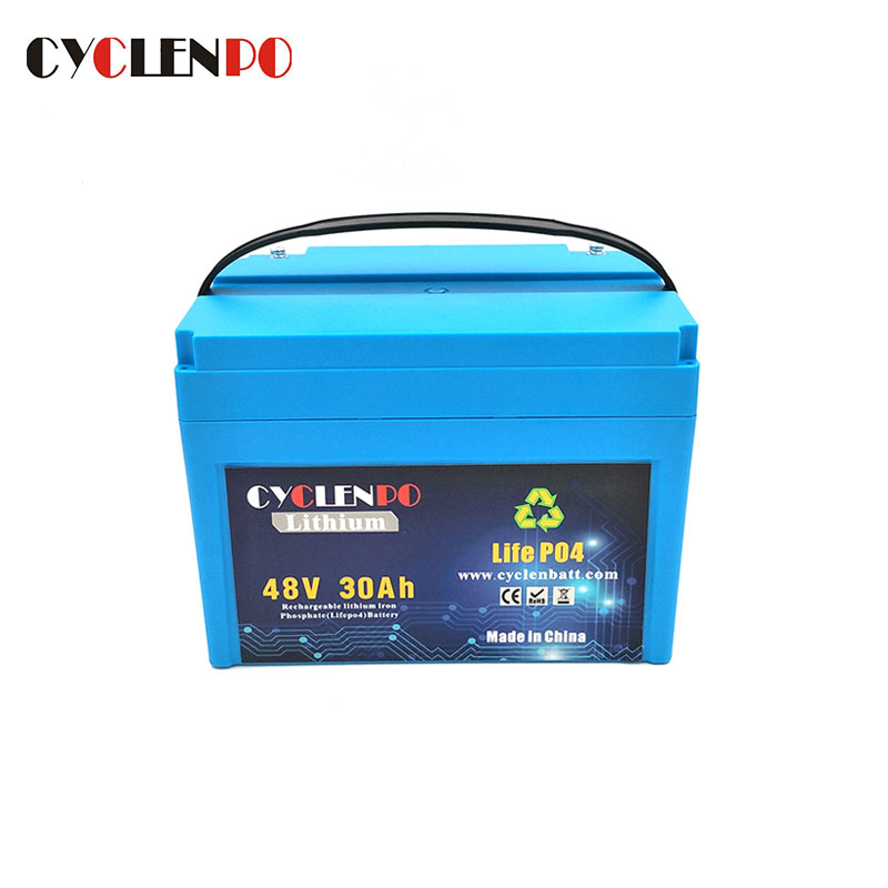Lifepo4 48v 30ah Lithium Ion Battery Pack For E-Bike and Scooters