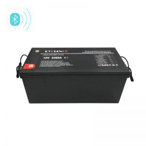 240Ah 12 Volt Deep Cycle Marine Battery With Bluetooth Function