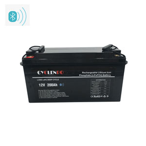 Smart 12v 200ah Lithium Ion Battery With Bluetooth APP