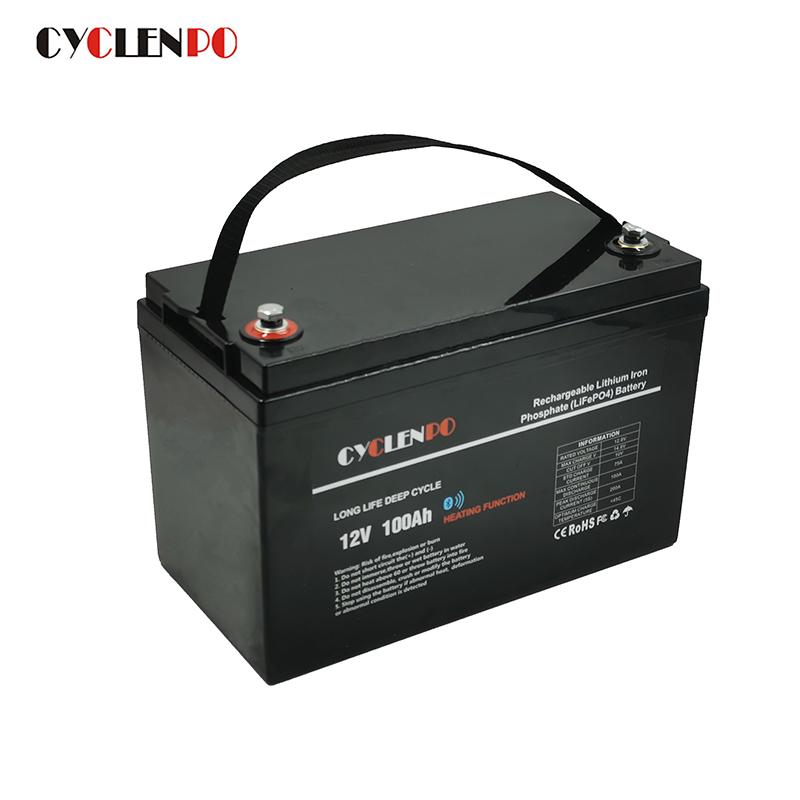 12 volt 100 amp hour lithium battery
