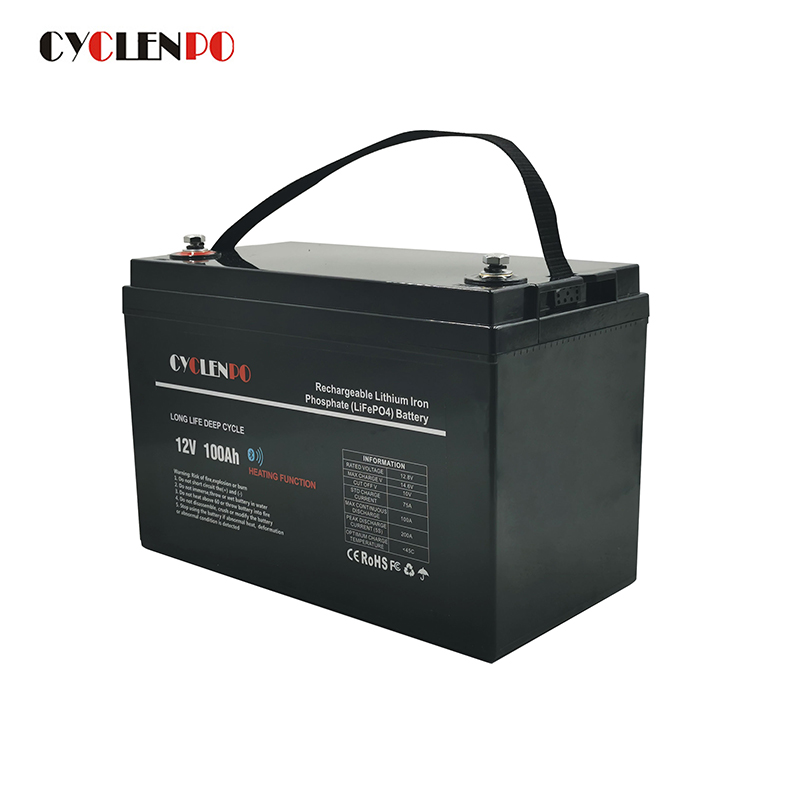 12v 100ah lifepo4 lithium battery